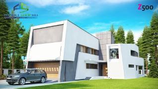 Проект дома Проект zx27, 339.7 м2