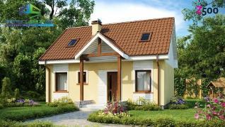 Проект дома Проект z32, 94.5 м2