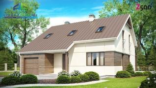 Проект дома Проект z148, 197.7 м2