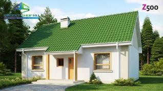Проект дома Проект z12, 70.4 м2