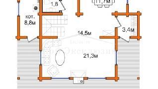 Проект дома Проект ДН-190, 140.3 м2