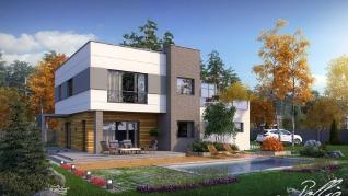 Проект дома Проект x5, 241.3 м2