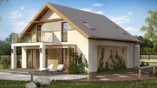 Проект дома Проект Z224, 153.4 м2