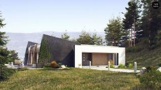 Проект дома Проект zx106, 122.7 м2