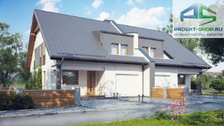 Проект дома Проект zb15, 158.6 м2