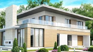 Проект дома Проект Zx21, 243.7 м2