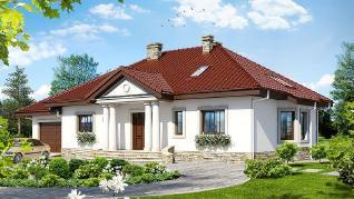 Проект  Дом в гаурах (ПД), 214.1 м2