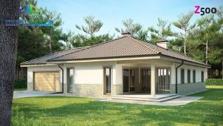 Проект дома Проект z80, 197.5 м2