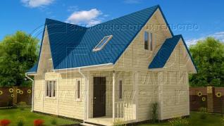 Проект дома Проект дома №29, 55 м2