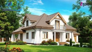 Проект дома Проект z109, 258.4 м2