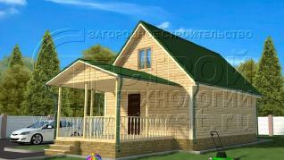 Проект дома Проект дома №113, 54 м2