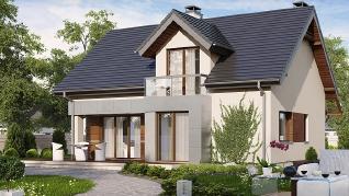Проект дома Проект Z89, 139.2 м2