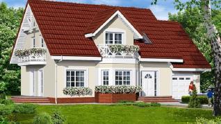 Проект  Дом в целозии, 174.8 м2