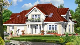 Проект  Дом во вьюнке (Г2), 219.4 м2