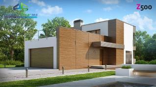 Проект дома Проект zx41, 140.4 м2