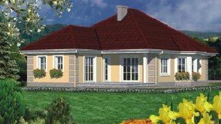 Проект  Дом в настурциях 4, 147.5 м2