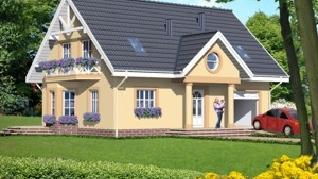 Проект  Дом в сапфирах, 149.6 м2