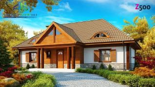 Проект дома Проект z20, 235.1 м2