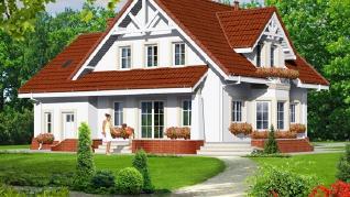 Проект  Дом в тамарисках 6, 172.7 м2