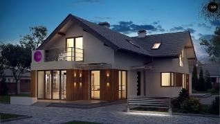 Проект дома Проект z150, 166.5 м2