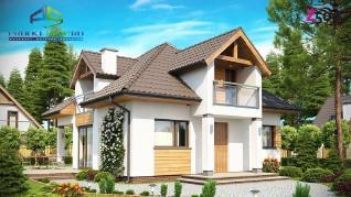 Проект дома Проект z145, 130.9 м2