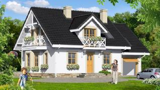 Проект  Дом в рододендронах 6 (П), 216.8 м2