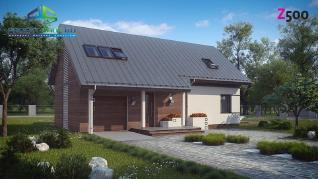Проект дома Проект z226, 149.6 м2