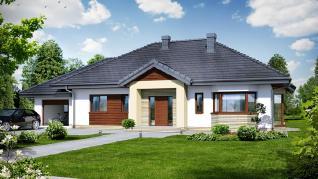 Проект  Дом в гаурах (Н), 152.5 м2
