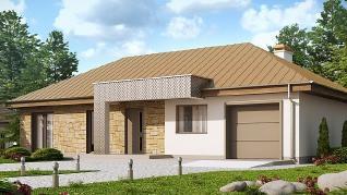 Проект дома Проект Z165, 132.8 м2