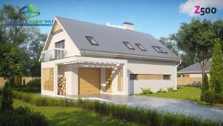 Проект дома Проект z235, 189.9 м2