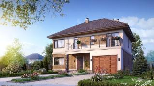 Проект дома Проект x3, 269.76 м2