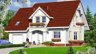 Проект  Дом в тамарисках 4, 161.1 м2