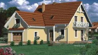 Проект  Дом в папоротнике 2, 168.2 м2