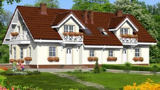 Проект  Дом в рододендронах 10 (Б), 118.8 м2