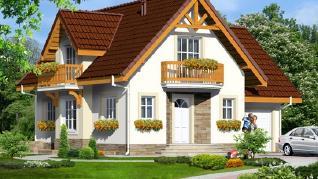 Проект  Дом в антоновке (ГП), 181.8 м2