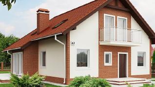 Проект дома Проект Z63, 170.4 м2