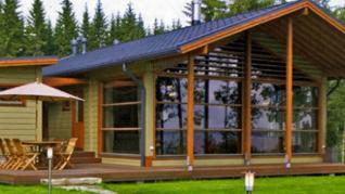 Проект  Проект деревянного дома Alm 118, 173 м2