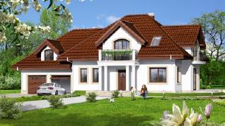 Проект  Дом в вербене 6 (Г2), 215.9 м2