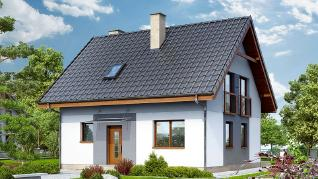 Проект  Дом в хлорофитуме 2, 94.5 м2