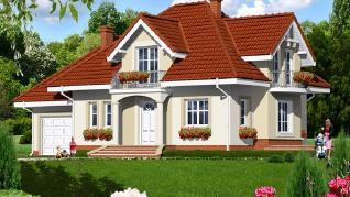 Проект  Дом в вербене, 251.9 м2