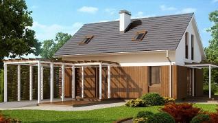Проект дома Проект Z213, 117.9 м2