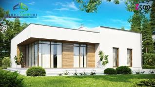 Проект дома Проект zx35, 114.2 м2