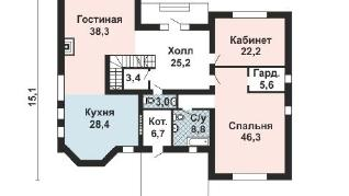 Проект дома AS-2161, 274 м2