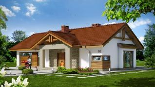 Проект  Дом в торениях, 131.16 м2