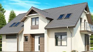 Проект дома Проект Z172, 190.9 м2