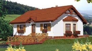 Проект  Дом в ежевике, 156.5 м2