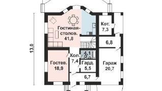 Проект дома AS-2177, 215 м2