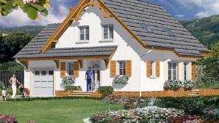 Проект  Дом в тамарисках (П), 210.4 м2