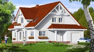 Проект  Дом в анисе 3, 232.2 м2