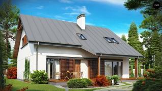 Проект дома Проект z186, 182.8 м2